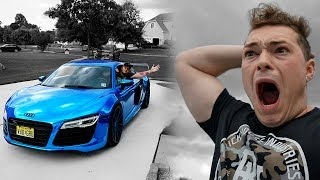 WHY WOULD I LET HIM DRIVE MY AUDI R8?! (BAD IDEA)
