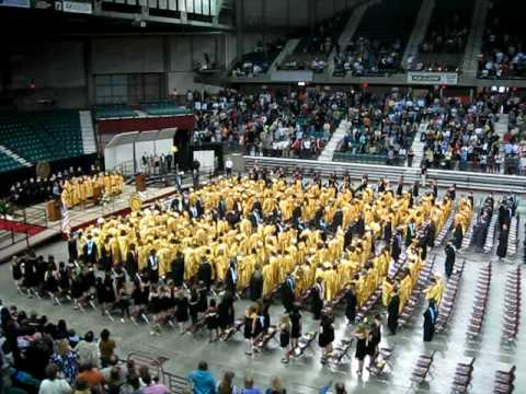 Topeka High School - school song - 2010 commencement