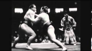 Futabayama vs. Akinoumi : Natsu 1943 (双葉山 対 安藝ノ海)