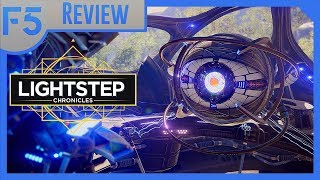 Lightstep Chronicles Review: The Shiniest Sci-Fi Visual Novel! (Video Game Video Review)