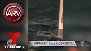Bote de turistas naufragó en un lago de Guatemala | Al Rojo Vivo | Telemundo