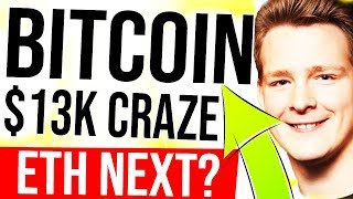BITCOIN $13K TODAY?!! 😍 ETH $1K Possible? Tech Overview - dydx, uniswap, ganache, drizzle