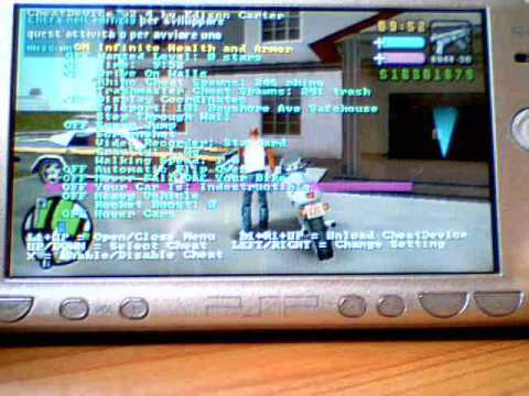 cheat device gta vcs psp 6.60