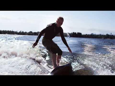 Катание на доске за катером или искусственный серфинг Киев в Экстрим Парк X-Park