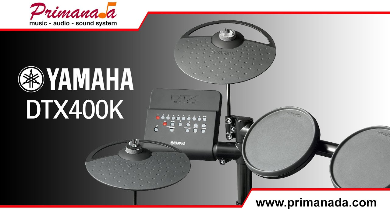 Yamaha dtx 400k electronic drum review youtube for Yamaha dtx review