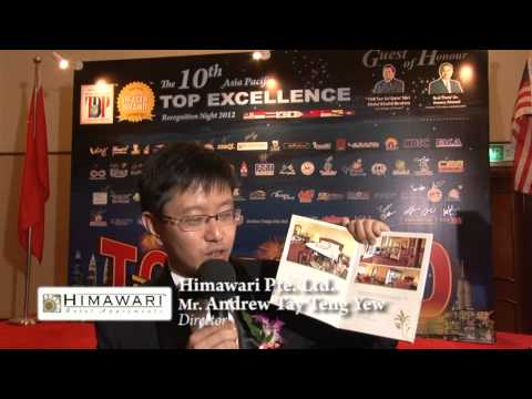 Himawari Pte Ltd - 10th Asia Pacific Excellence Brand International Certification Winners
