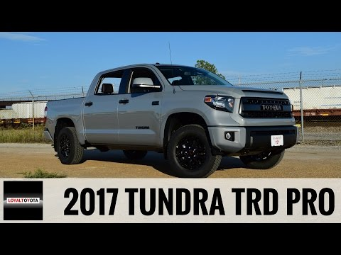 2017 toyota tundra crewmax tss off road at loving toyota doovi. Black Bedroom Furniture Sets. Home Design Ideas