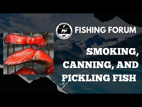 Smoking, Canning, And Pickling Fish