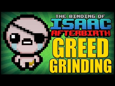 Greed Grinding - Afterbirth Greed Mode [34]