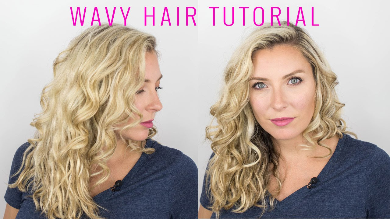 how to style short wavy hair naturally how to style your wavy hair 1189 | maxresdefault