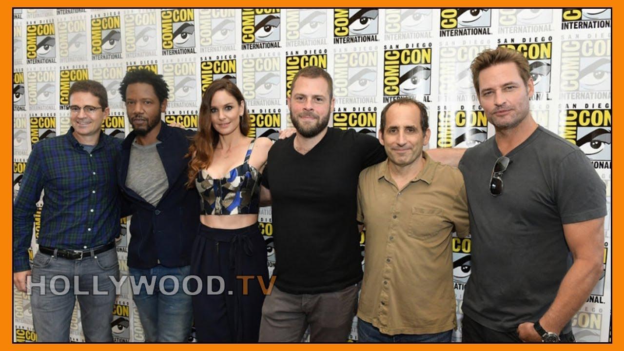 The stars of Colony talk season 3 - Hollywood TV