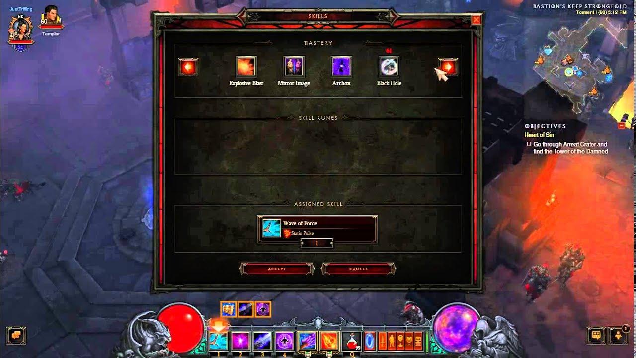 Diablo  Wizard Speed Build