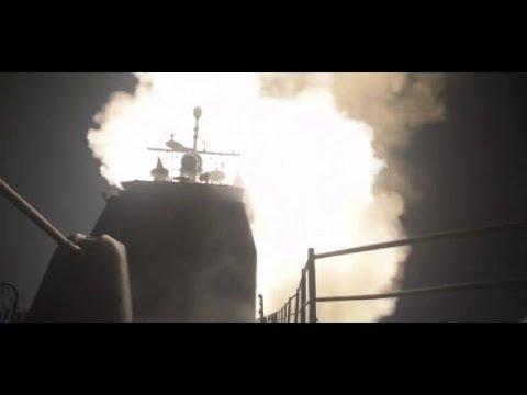 Raketen gegen Syrien: Pentagon zeigt Bilder die Bilder des Angriffs