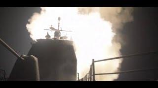 Raketen gegen Syrien: Pentagon zeigt die Bilder des Angriffs