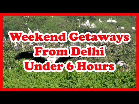 5 Weekend Getaways From Delhi Under 6 Hours | India Weekend Getaways