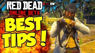 HOW TO GET BETTER AT RED DEAD ONLINE PVP! Best Weapons & Aim Settings! (Red Dead Showdown PvP Tips)
