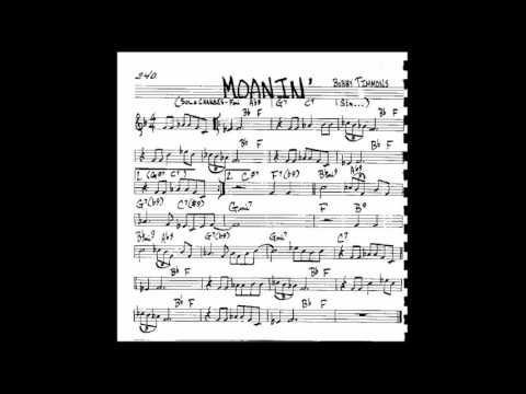 Moanin' - Backing Track - Play Along