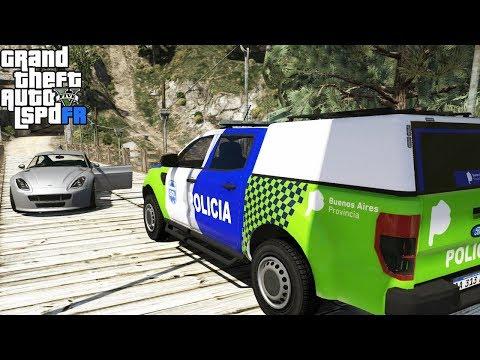 GTA 5|LSPDRF #137|POLICIA de ARGENTINA - CAOS EN LA CIUDAD|EdgarFtw
