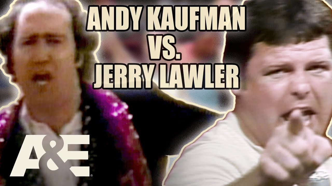 WWE's Most Wanted Treasures: Jerry Lawler Vs. Andy Kaufman - Buying Back The Boots | A&E