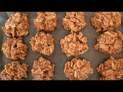 Easy No Bake Peanut Butter Cookies Recipe
