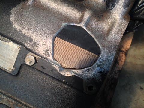 Easy Cast Iron Engine Block Welding - Muggy Weld