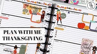 Plan with Me: Thanksgiving   Plans by Rochelle