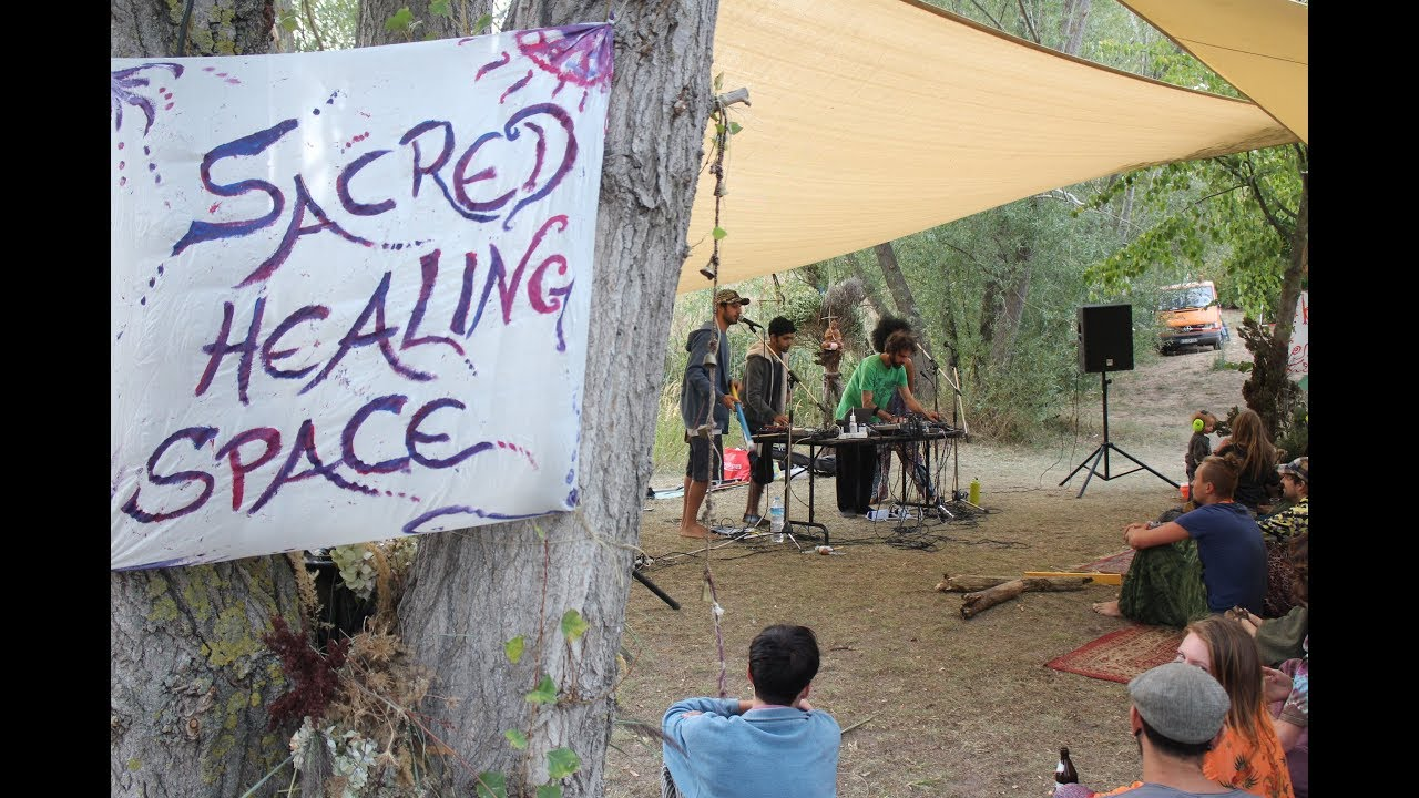 Mantravine Music Workshop at Gaggalacka Festival 2018