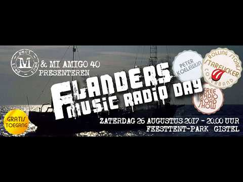Flanders Music Radio Day 26 Augustus 2017 in Gistel