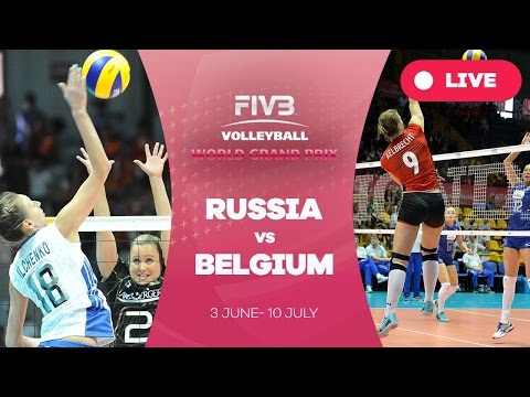 Russia v Belgium - Group 1: 2016 FIVB Volleyball World Grand Prix