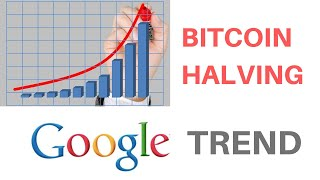 """Google Trend shows more people searching for """"Google Halving""""   Bitscreener"""