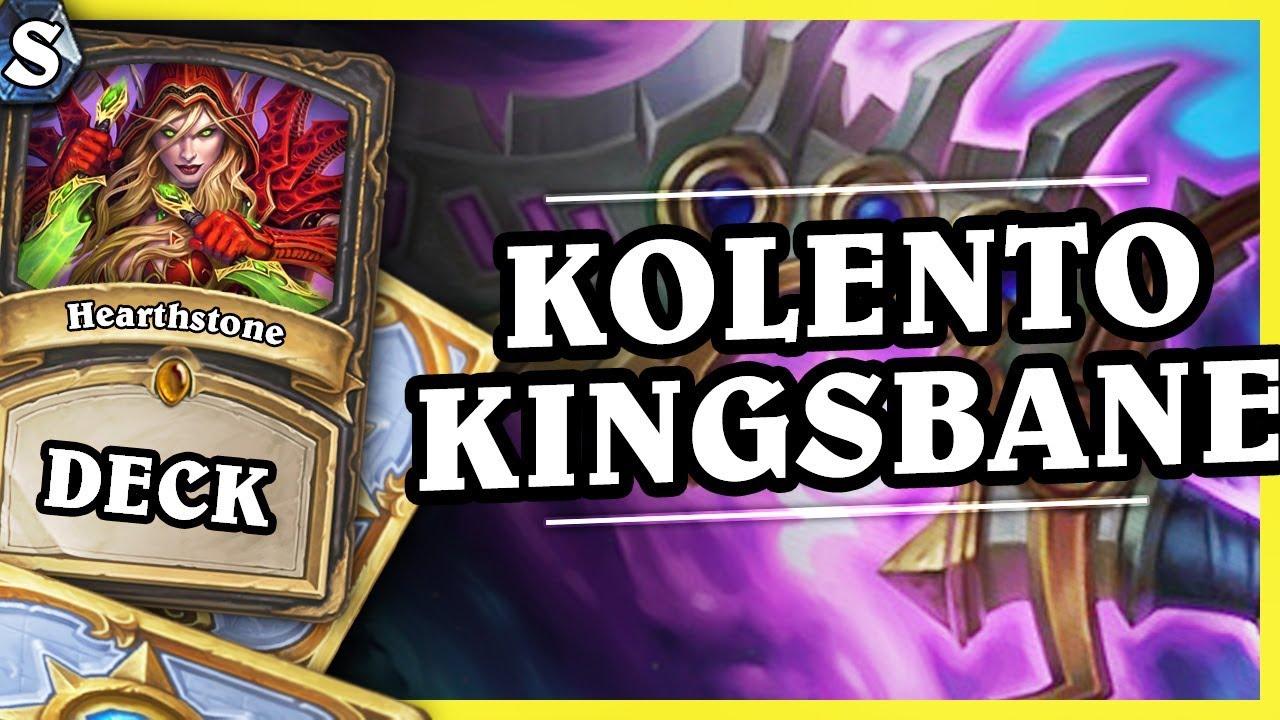 KOLENTO KINGSBANE ROGUE – Hearthstone Deck Std (K&C)