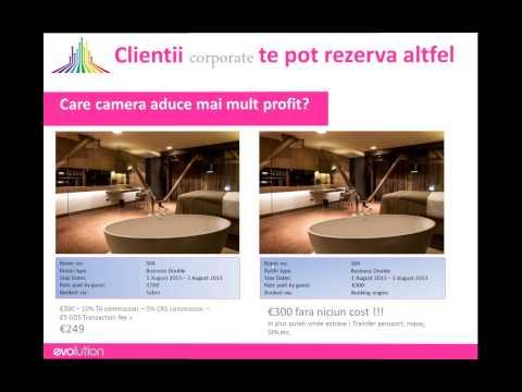 Revenue Management prin booking engine