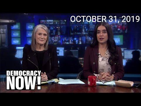 Top U.S. & World Headlines — October 31, 2019