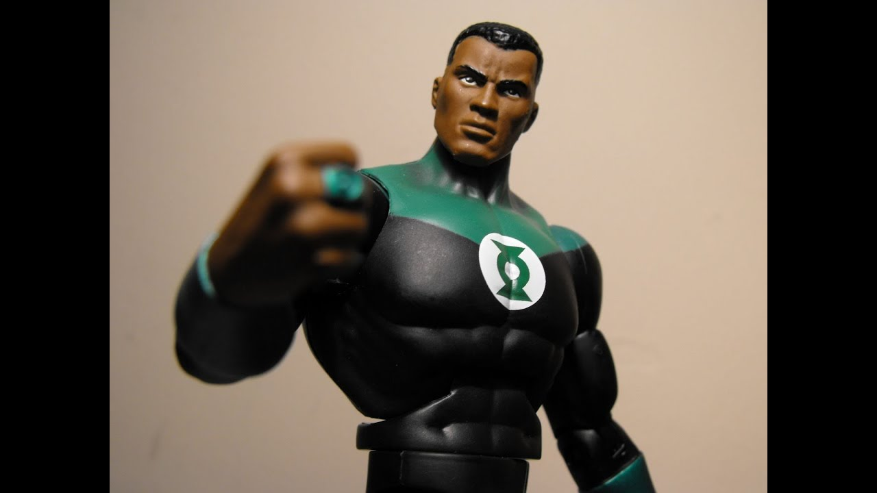 DC Comics-New 52-Green Lantern-John Stewart-action figure