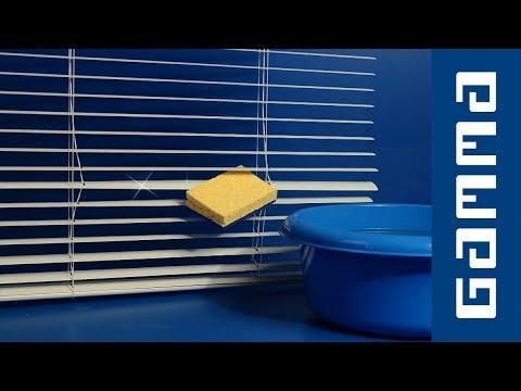 gamma handigheidjes jaloezie n reinigen youtube. Black Bedroom Furniture Sets. Home Design Ideas