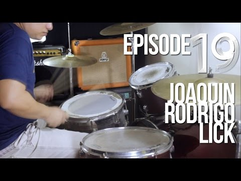 EP.19 Joaquin Rodrigo Drum Lick (#DrumBeatMonday) Filipino Drum Lesson