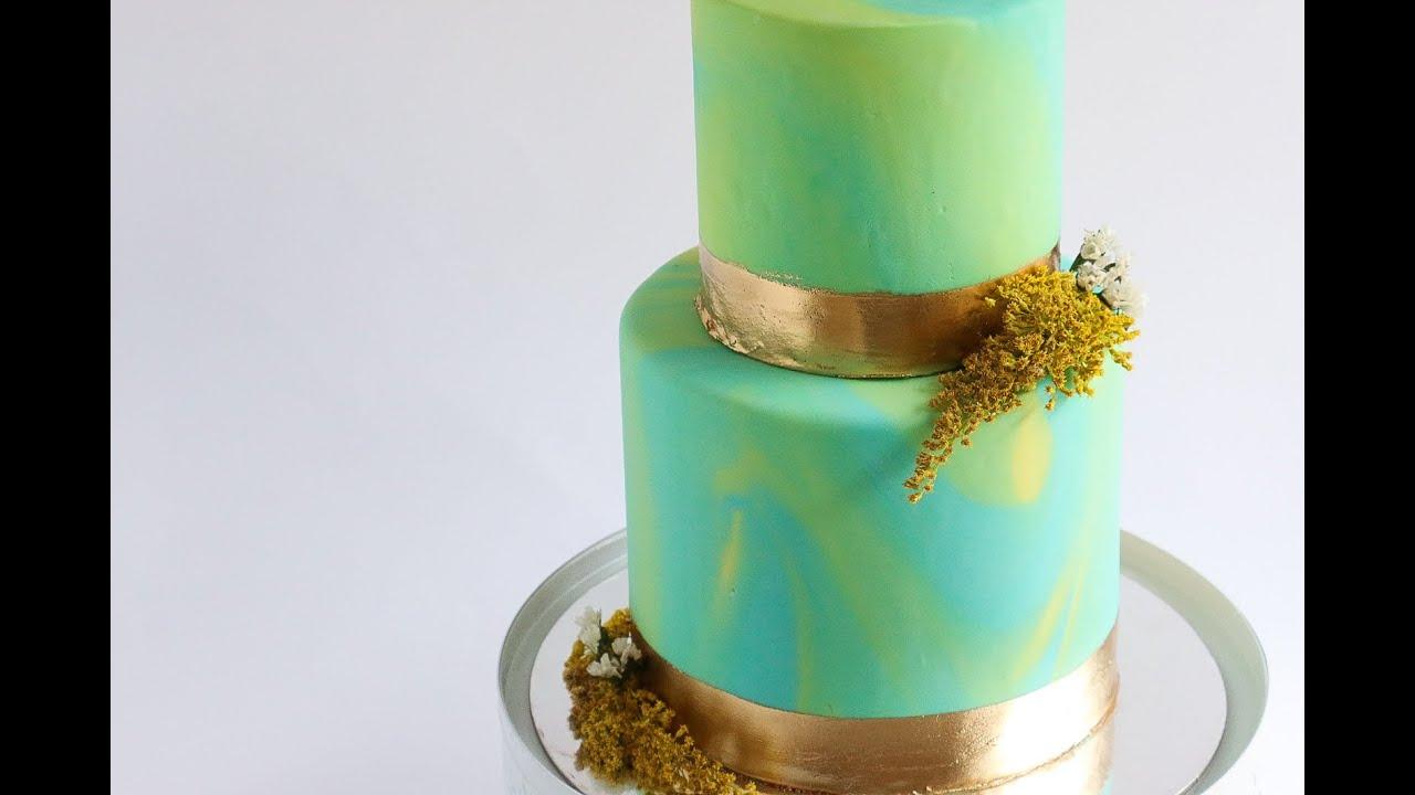 Marbled Fondant Cake Tutorial Rosie S Dessert Spot Youtube