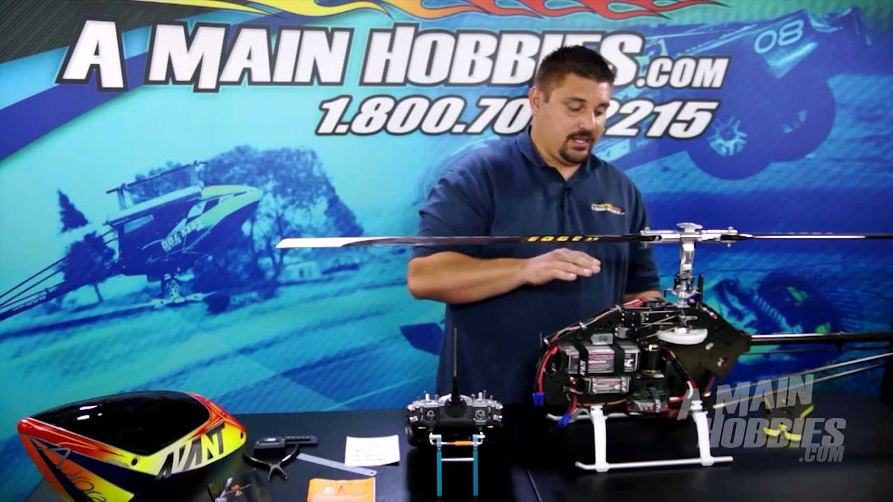 AMain Hobbies' RCTalk: How to Setup BeastX Flybarless Gyro System, Part 2  of 3