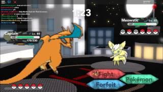 Battling with sgtwoods262   Pokemon Brick Bronze Roblox