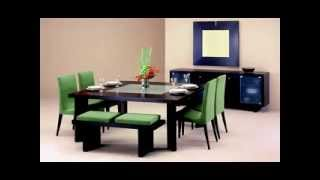 Easy Modern Dining Room Tables Decor Ideas