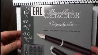 Brevillier cretacolor calligraphy set (Ручка для каллиграфии)