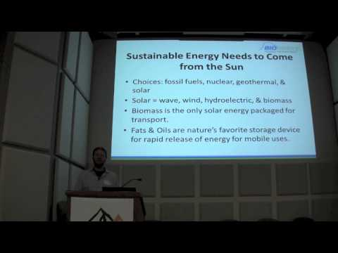 The Most Sustainable Fuel on the Planet - Don Scott - 2013 C