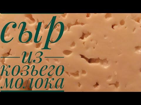 Как сделать козий сыр в домашних условиях рецепт видео
