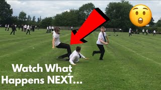 SCHOOL FOOTBALL GONE WRONG... HORRIFIC TACKLE STARTS A FIGHT! A DAY IN A LIFE OF A FOOTBALLER!