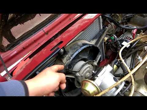 Переборка системы охлаждения Славута Таврия ( электрокран печки радиатор лузар спорт ) часть 1