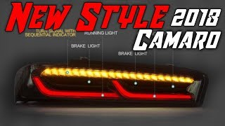 2016-18 Camaro NEW Tail Lights (Black/Clear or Red) *2018*