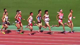 2017 山形インターハイ陸上 男子3000mSC決勝