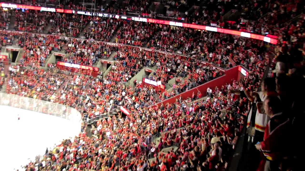 1ac4b3ba85b Florida Panthers Crowd Celebrating Playoff Goal - 4 13 12 - YouTube