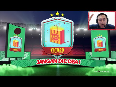 RITUAL OPEN PACK FUT BIRTHDAY PARTY BAG   FIFA 20 INDONESIA #69