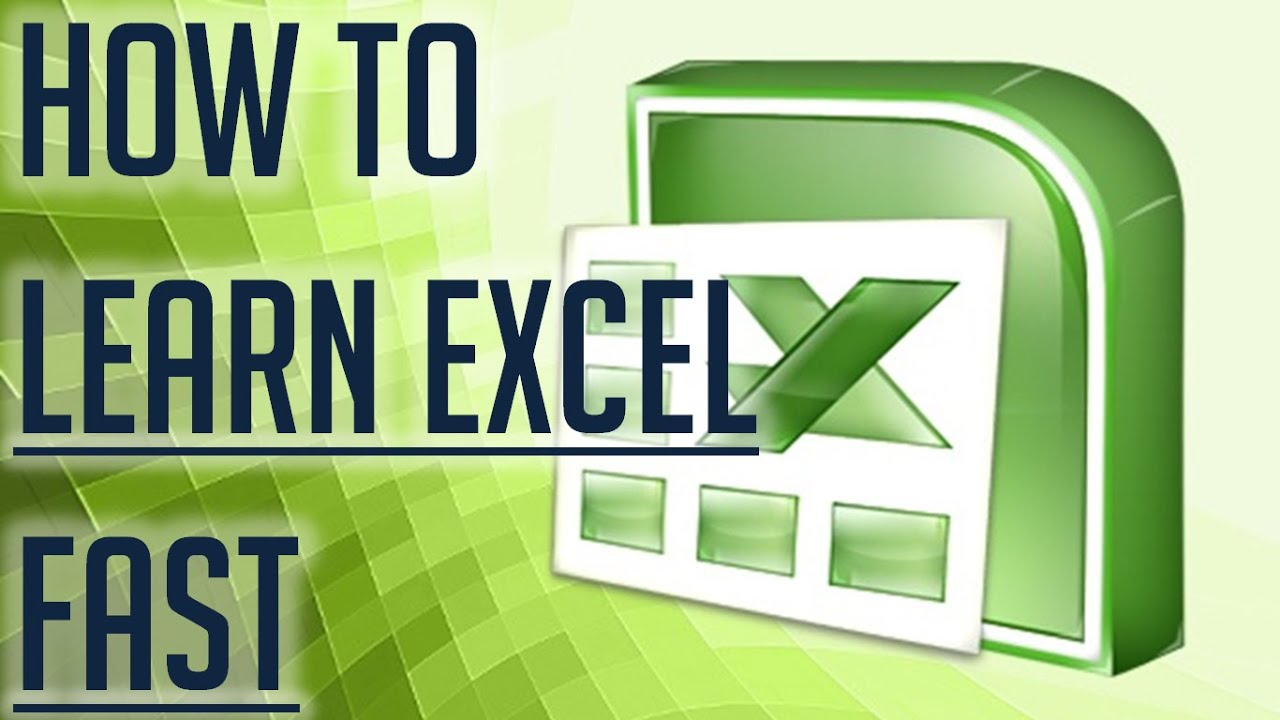 Learn Basic Excel Skills For Beginners || Part 1 - YouTube